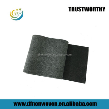 High Adsorption Nonwoven activated carbon filter cloth