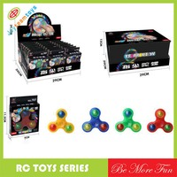 Kids hobby spinner with led spinner