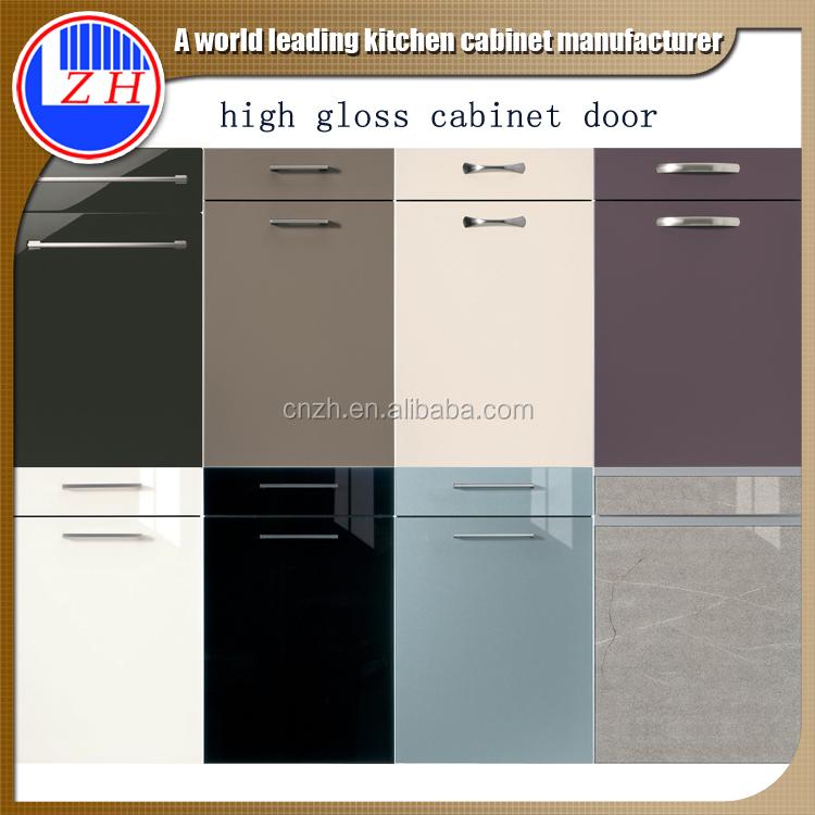 Kitchen Cabinet Doors Acrylic: Usine Directe Haute Brillance Acrylique Armoires De