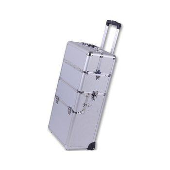 Famous Brand Hairdresser Trolley Case Beauty Case Wheeled Cosmetics