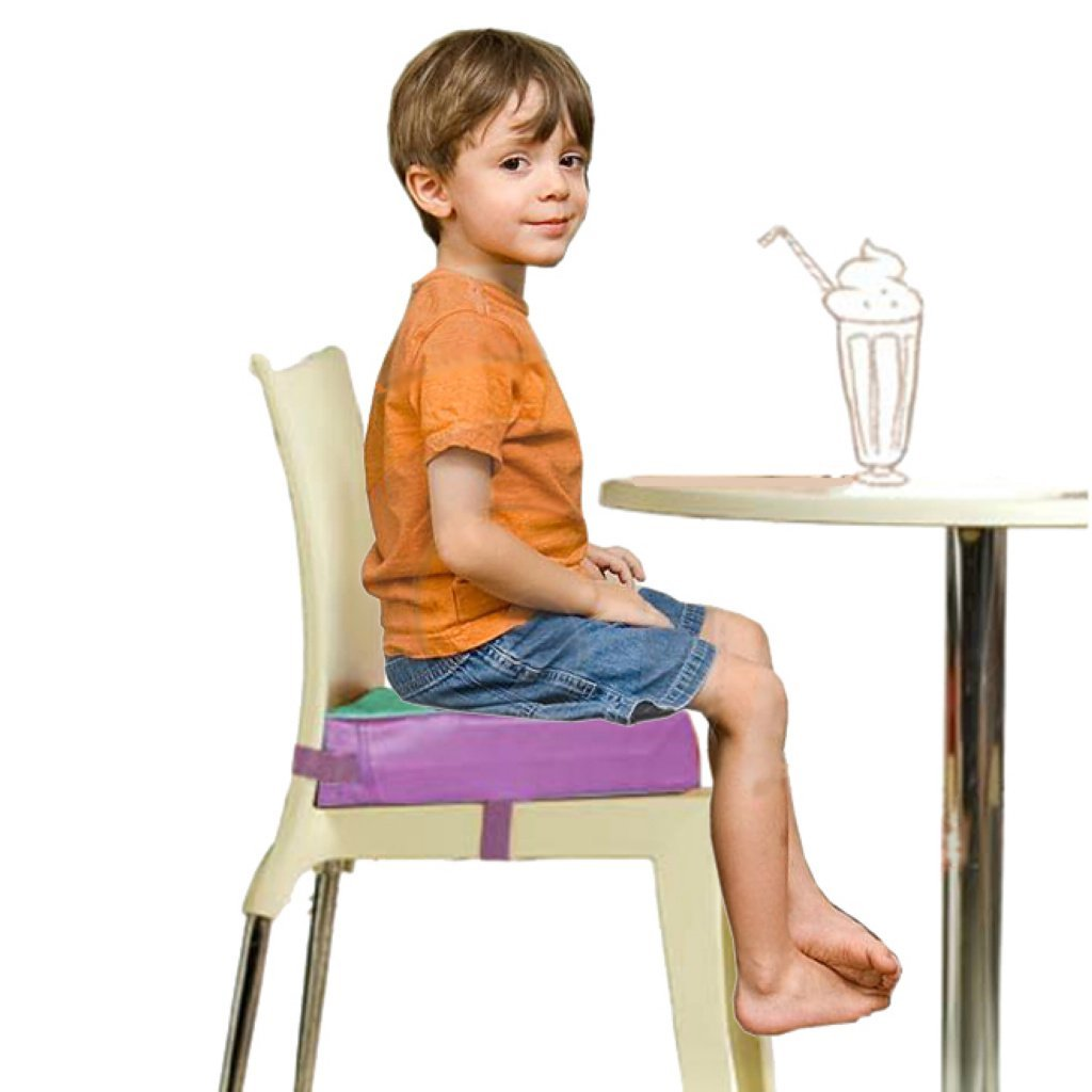 Picture of: Buy Kids First Reg Faux Leather Portable Kids Dining Chair Booster Cushion Soft Baby Booster Seats Green In Cheap Price On M Alibaba Com