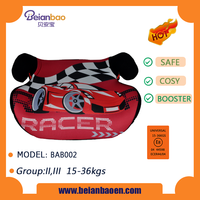 Comfortable booster car seat for children with ece r44 04