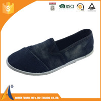 ODM&OEM women jeans shoes female casual shoes