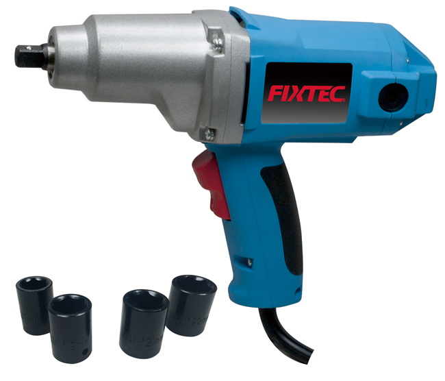 """FIXTEC Pneumatic Tools Air Tools Torque Wrench 1/2"""" Heavy Duty Air Impact Wrench"""