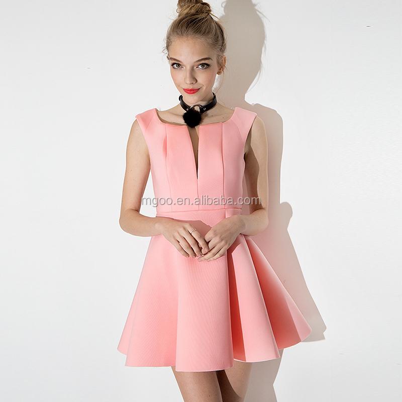Mgoo Fábrica Vestido De Cóctel Para Los Adolescentes Vestido Enchufe ...