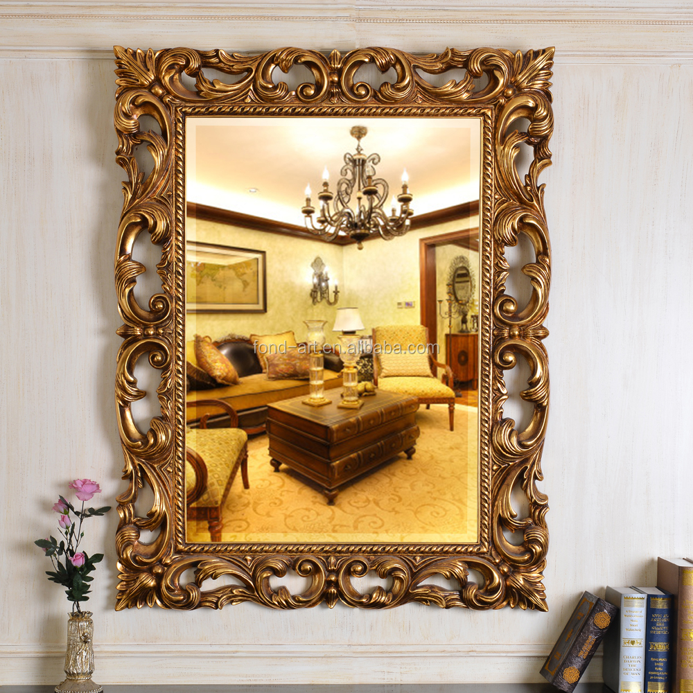 Pu610 Baroque Style Wall Decorative Framed Mirrors - Buy Unique ...