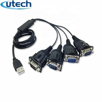 工場 Pl2303 チップセット Usb 4 ポートに Rs232 シリアルケーブル 1.2 ...