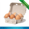 Paper material 6 eggs duck eggs holder/6 eggs pack contanier wholesale