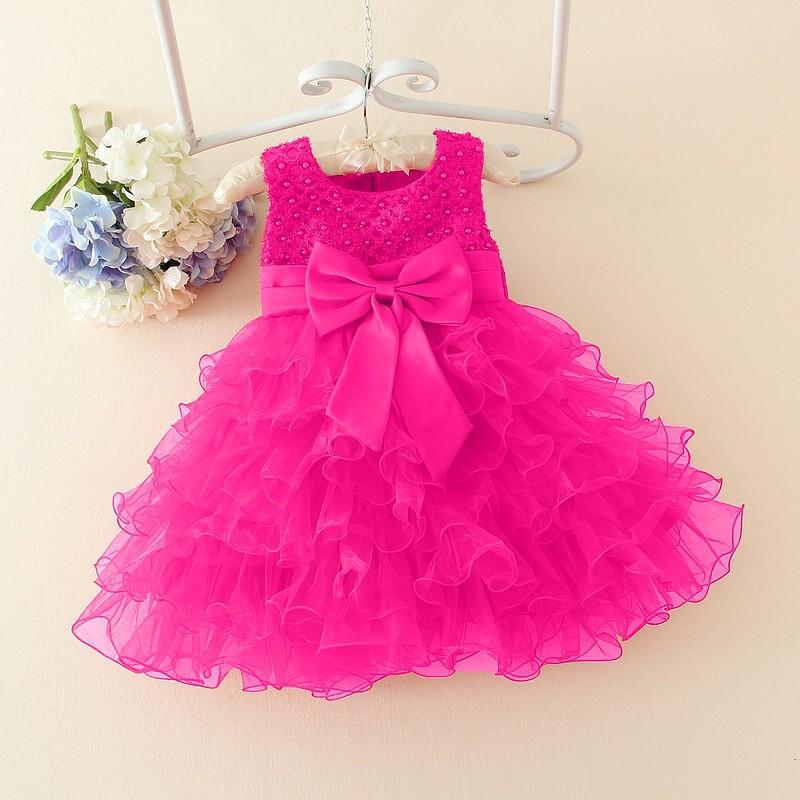 2015 nueva niña vestido de flores para el Partido y la boda niños ...