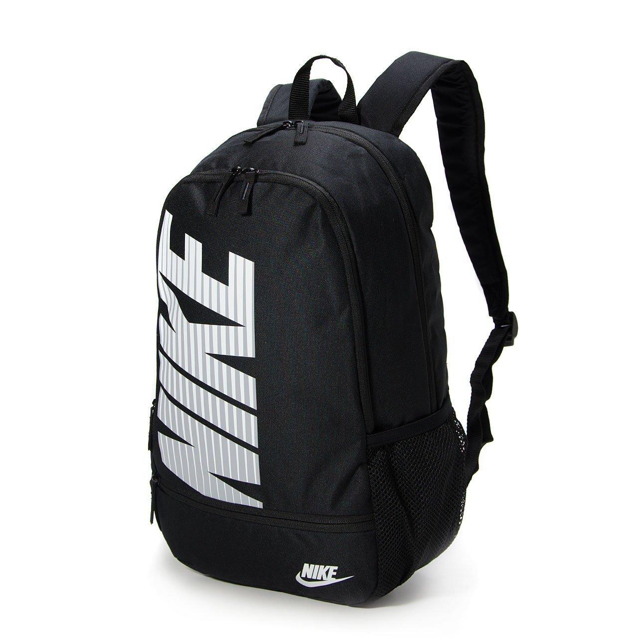 Buy Nike Classic NORTH Black White Backpack Bag Turf School Sport ... 5ae8dbb56e67d