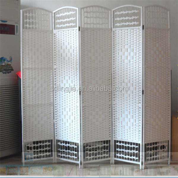 Room Divider Partition Gorgeous White Paper Folding Indoor Portable Hanging Room Divider Partition Design Decoration