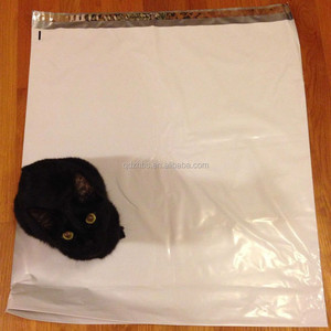 Extra Large Polymer white Poly Mailer Plastic Shipping Bag Expansion Envelope