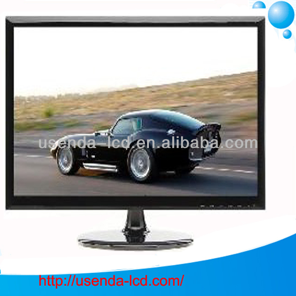 19 inch lcd monitor desktop and wall mount big monitor with VGA input