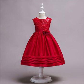 a683500aaf48 Kid Ball Gown Dresses Girl Christmas Dress Fancy Baby Girl Frocks ...