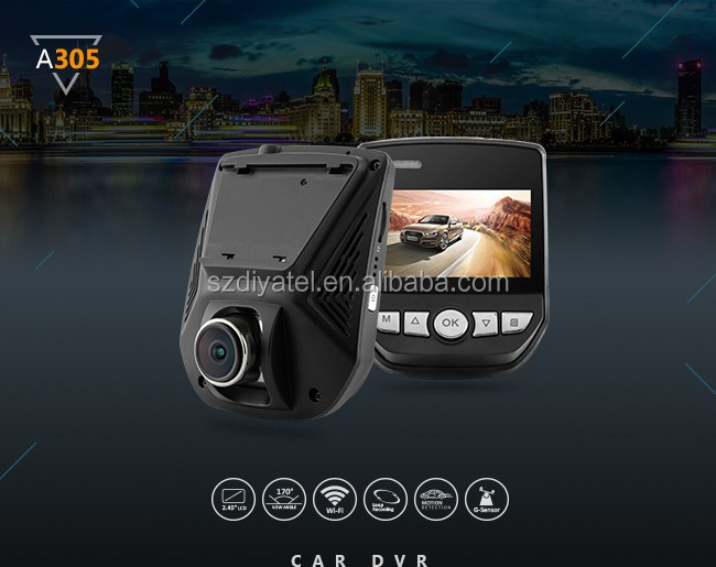 car dash cam with WIFI recorder 1080P