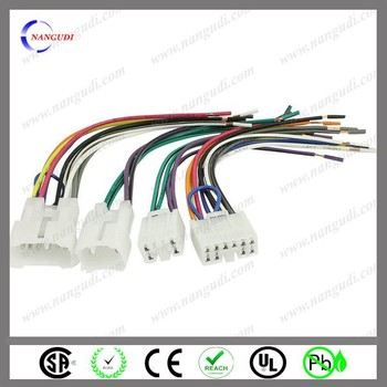 trade assurance product ul approved auto car dvd gps connector trade assurance product ul approved auto car dvd gps connector wire harness