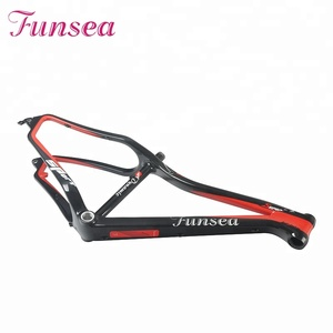 "Painting accept wholesale super light T700 carbon fiber snow fatbike frame 16""/18"" china fat bicycle frame carbon"