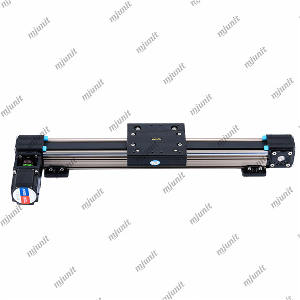 mjunit MJ50 belt guide linear rail actuator for automatic cross cutting machine PVC film PET die cutting machine paper cutting