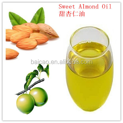Factory wholesale organic pure carrier oil sweet almond oil