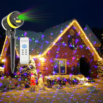 Rgb Outdoor Motion Sensor Light Led Christmas Fireworks Light Laser Garden Light View Laser Garden Light Howsan Product Details From Shenzhen House
