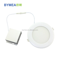 Hot slim led downlight 4 inch 6 inch with ES ETL in canada