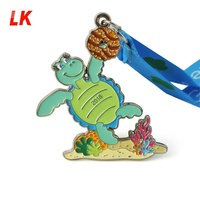 Fashion design award custom kids running medals sports import from china