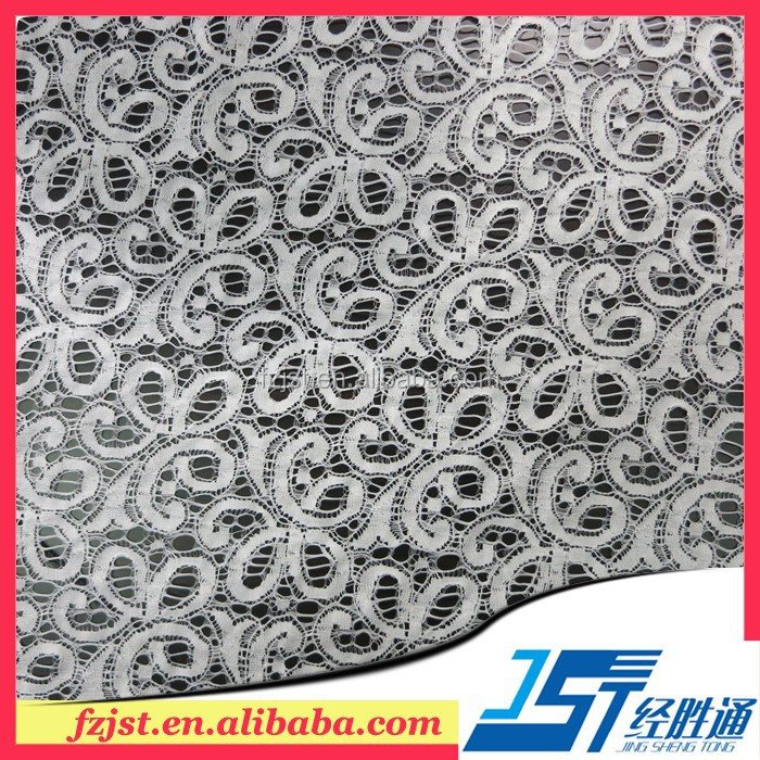 New Designs Of sequence floral lace Fabric For garment
