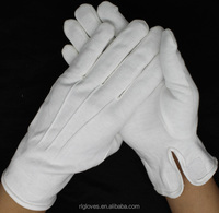 jeweler band waiter banquet cotton gloves bulk