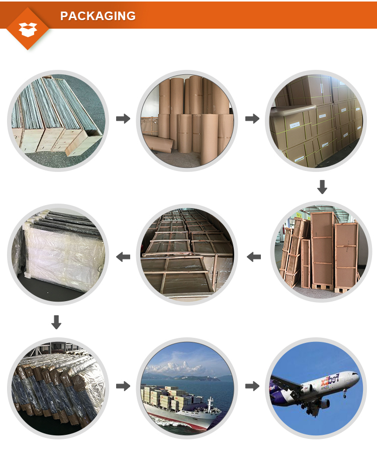 Pillar 4 sides advertising Aluminum Frameless LED light box