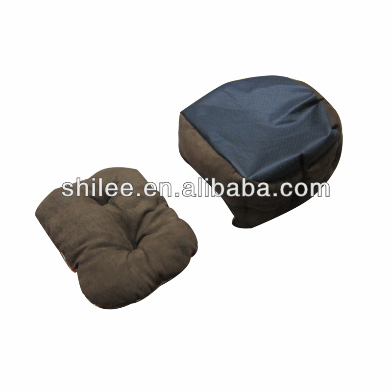 Luxury Winter paw shape Warm Soft Pet Bed Comfortable Suede fabric Dog cushion