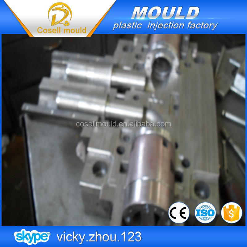 pipe mould manufature/collapse pipe fittings mould/pipe fitting maker