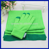 Amazon gloves and scarf supplier Fashionable new design knitted scarf and gloves sets