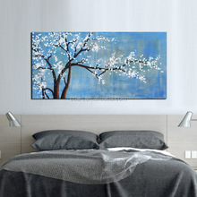 Wholesale Handpainted Modern Flower Oil Painting on Canvas