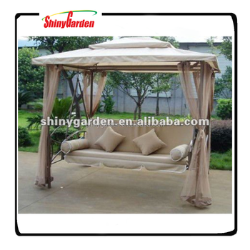Shinygarden Garden Outdoor Steel Metal Frame Patio Gazebo Hanging