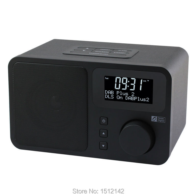 ocean digital portable fm dab dab digital radio receiver. Black Bedroom Furniture Sets. Home Design Ideas