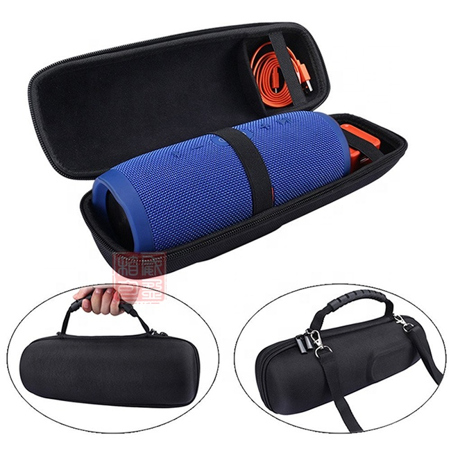 Wholesale EVA <strong>Hard</strong> <strong>case</strong> for JBL charge 3 bluetooth speaker with shoulder strip (only bag,not including speaker)