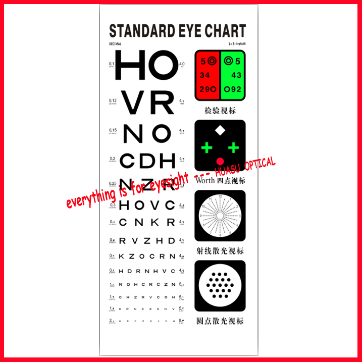 Professional Snellen Chart Eye Test Chart Vision Chart Buy Snellen