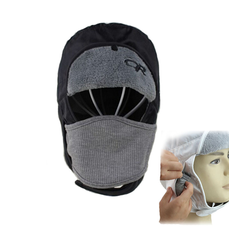 Buy High Quality Black Skull Mask Hat Windproof Warm Winter Outdoor Russian  Fur Hat Men Women Waterproof Cap With Ear Flaps in Cheap Price on  Alibaba.com 18d6e2183aa
