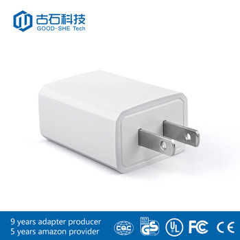 UL Stamp phone 2 amp usb wall charger 5V CE FCC level 6