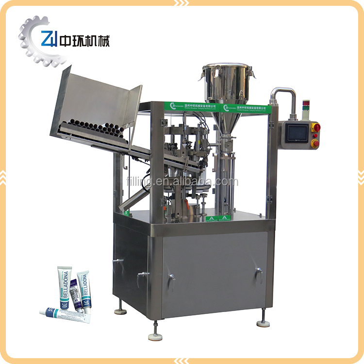 Promotional Prices Metal Tube Filling And Closing Machine