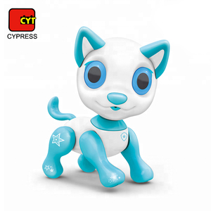 B/O smart toys sound control interaction robot dog with walk