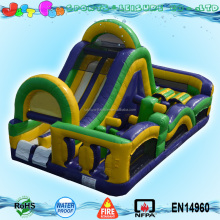 factory price cheap commercial inflatable kids obstacle course equipment for sale