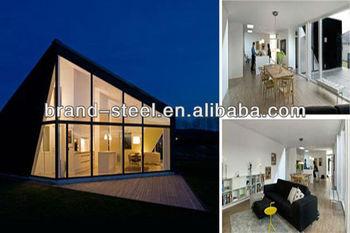 Cina vendita calda moderno lusso villa telaio in acciaio for Moderne case a telaio