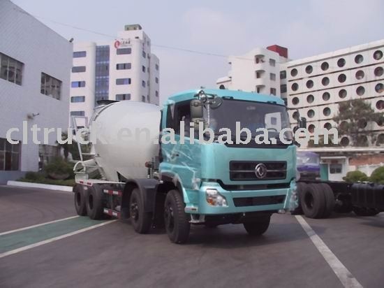 dongfengtianlong 8x4 cement mixer truck,second hand concrete mixer trucks