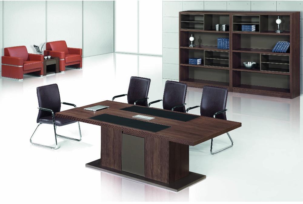 2015 Comercial Oficina Simple Personalizado Mesa De Reuniones Para 6 ...