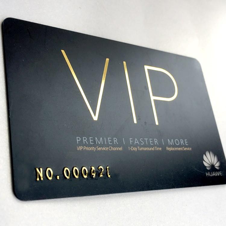 Letterpress Vip/business Cards Gold Foil Vip Card With Magnetic ...