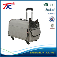 Large wheeled carrier Suitable high quality beautiful dog bag