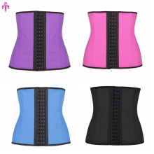 Tummy Girdle Belt Body Control Waist Trainer Corset Slimming Shaper Latex Waist Cincher