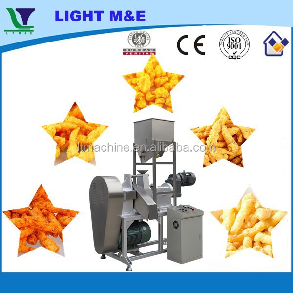 Hot Sale High Quality Automatic Fried Extruded Nik Naks Machines