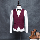 Factory price latest waistcoat designs for men with high quality